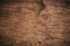 Gammalt grungem?rker texturerade tr?bakgrund, yttersidan av den gamla bruna wood texturen, f?r brunttr? f?r b?sta sikt panel royaltyfri bild
