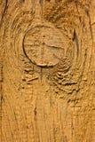 Gammalt gult bräde Royaltyfri Bild