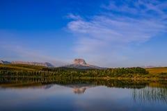 Gammalt högsta berg Arkivfoto