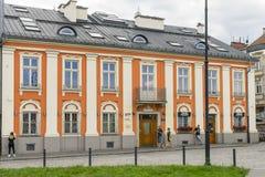 Gammalt historisk byggnad Fotografering för Bildbyråer