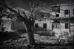 gammalt historiskt hus Fotografering för Bildbyråer