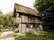 Gammalt historiskt lantbrukarhem i Tyskland 2 arkivfoto