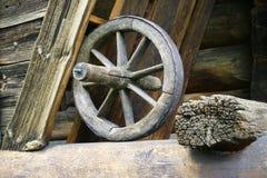 gammalt hjul Royaltyfri Bild