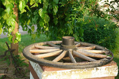 gammalt hjul Royaltyfria Bilder