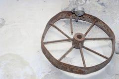 gammalt hjul arkivfoton