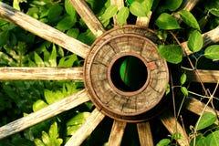 gammalt hjul Arkivbild