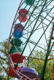 gammalt hjul för ferris Royaltyfria Foton