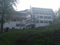 gammalt hotell Arkivfoto