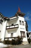 Gammalt hotell i höga Tatras. Arkivbild