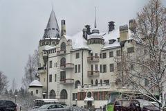 Gammalt hotell Valtionhotelli arkivbilder