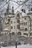 Gammalt hotell Valtionhotelli Arkivbild