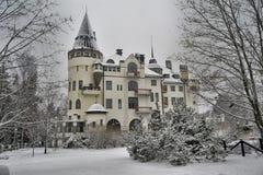 Gammalt hotell Valtionhotelli Arkivfoto