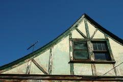 Gammalt hus 3 Arkivbilder