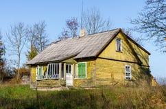 Gammalt hus Arkivbilder