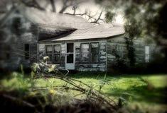 gammalt hus Arkivbild