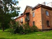 gammalt hus Arkivfoto