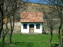 gammalt hus royaltyfri foto