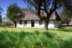 gammalt hus Royaltyfria Bilder