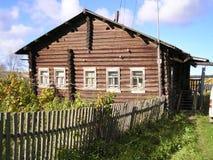 gammalt hus Fotografering för Bildbyråer