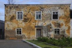 Gammalt hus - ö av Mocambique Royaltyfri Foto