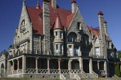 gammalt hus för 199 brittiska columbia Arkivfoto