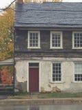 Gammalt hus för Amish stad Fotografering för Bildbyråer