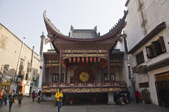 Gammalt hus för Changsha stad Royaltyfri Foto