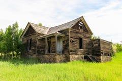Gammalt hus 1800 för ` s i krymplingliten vik Colorado Royaltyfri Fotografi