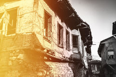 Gammalt hus för tappning Royaltyfria Foton