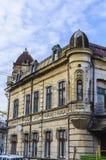 Gammalt hus i Bucharest Arkivbild