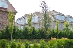 Gammalt hus i den Bois franc nära Centralet Park arkivfoto