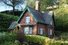 Gammalt hus i Edinburgh Royaltyfria Foton