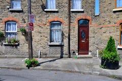 Gammalt hus i Irland Fotografering för Bildbyråer