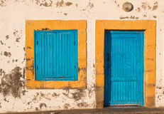 Gammalt hus i Marocko Royaltyfri Foto