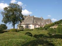 Gammalt hus i Marqueyssac Arkivbilder