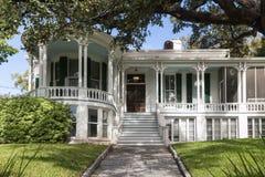 Gammalt hus i mitten av Austin Texas arkivbild