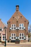 Gammalt hus i Naarden, Nederländerna royaltyfri fotografi