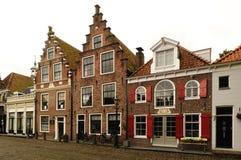 Gammalt hus i Nederländerna Royaltyfri Foto