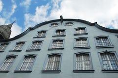 Gammalt hus i Nuremberg Royaltyfri Bild