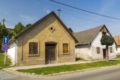 Gammalt hus i Szekszard Royaltyfri Bild