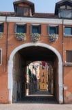 Gammalt hus i Venedig Royaltyfria Bilder