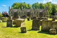 Gammalt hus i Witney, England Arkivfoton