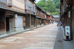 Gammalt hus Kanazawa Japan Arkivfoton