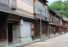 Gammalt hus Kanazawa Japan Arkivfoto