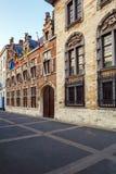 Gammalt hus med museet av Ruben, Antwerp Royaltyfri Bild