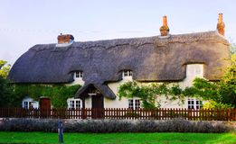 Gammalt hus nära Winchester Arkivbild