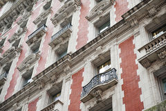 Gammalt hus New York City royaltyfri foto