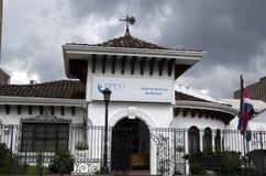 Gammalt hus San Jose Costa Rica Arkivfoto
