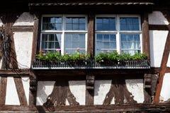 Gammalt hus, Strasbourg, Frankrike, Alsace Royaltyfri Bild