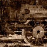 gammalt illustrationmaskineri Royaltyfri Foto